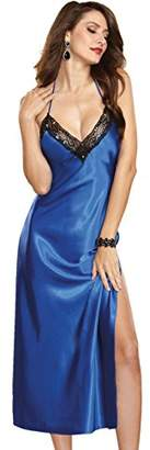 Dreamgirl Women's Gown with G-String Negligee,Small (Size:Small)