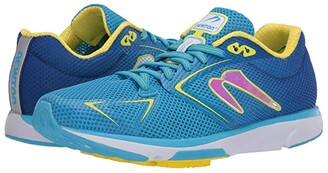 Newton Running Distance 9 (Laguna/Yellow) Women's Running Shoes
