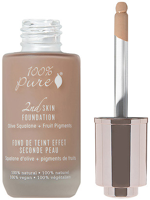 100% Pure 2nd Skin Foundation: Olive Squalene + Fruit Figments