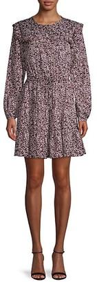 Rebecca Minkoff Floral-Print Mini Dress