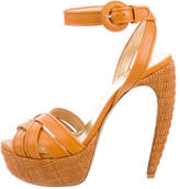 Walter Steiger Leather Platform Sandals