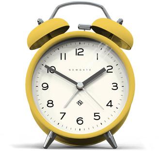 Newgate Charlie Bell Echo Silent Alarm Clock