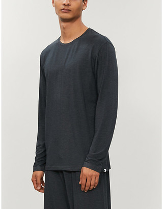 Derek Rose Marlowe stretch-jersey top