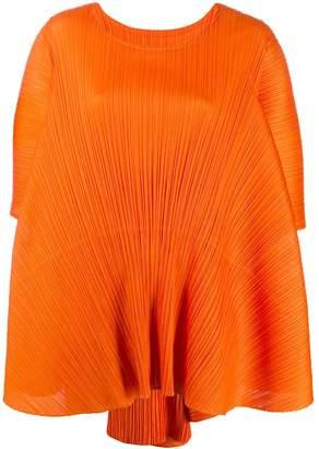 Pleats Please Issey Miyake boxy shift dress