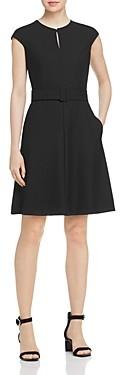 Marella Torino Belted A-Line Dress