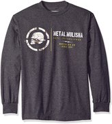 Metal Mulisha Men's Plus Size Frost Long Sleeve Shirt