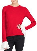 Lauren Ralph Lauren Silk-Blend Crewneck Sweater