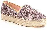Kate Spade Linds Too Glitter Slip-On Espadrilles