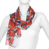 JCPenney Budding Romance Sheer Scarf