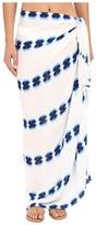 Plush Soleil Watercolor Pareo Scarves
