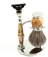 Bey-Berk Mach 3 Razor & Badger Brush Shaving Set