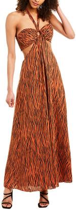 Ronny Kobo Sonnet Maxi Dress
