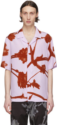 Paul Smith Pink and Red Floral Camp Shirt