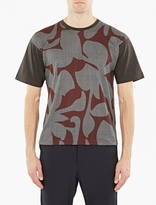 Wooyoungmi Charcoal Printed T-Shirt