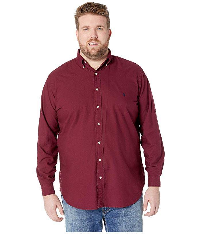 575cf690 Polo Ralph Lauren Red Men's Big And Tall Shirts - ShopStyle