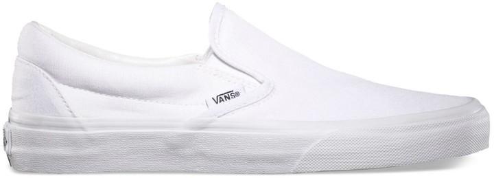 white vans on men