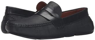 Massimo Matteo Pitstop Penny Driver (Black) Men's Slip on Shoes
