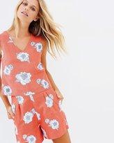 Jackson Linen Floral Shorts