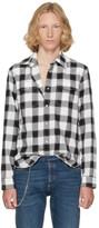 Maison Margiela Black and White Lumberjack Check Shirt