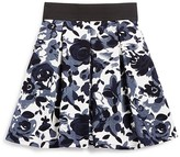 Aqua Girls' Pleated Floral Skirt - Sizes S-XL - 100% Exclusive