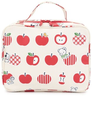 Familiar Apple Print Bag