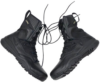 Nike Black Leather Boots