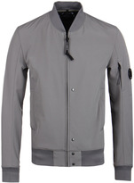 Cp Company Pewter Grey Soft Shell Watchviewer Jacket