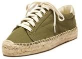 Soludos Platform Tennis Sneaker Camo Green