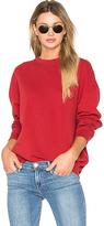 Iro . Jeans Thyma Sweatshirt in Red. - size L (also in )