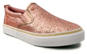 Juicy Couture Women's Charmed Glitter Slip-On Sneaker Women's Shoes