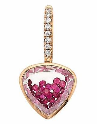 Moritz Glik Naipes Ruby and Diamond Shaker Charm