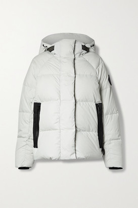 Canada Goose Junction Hooded Quilted Shell Down Jacket - Light gray