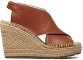 Kenneth Cole Ona Leather Espadrille Wedge