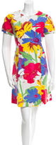 See by Chloe Floral Print Knee-Length Dress