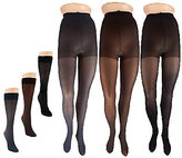 Legacy Trouser Socks and Microfiber Tights 3 Pairs Each