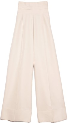 Dice Kayek Wide Leg Pants in Stone