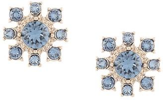 Marchesa Crystal-Flower Stud Earrings
