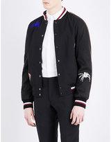 Lanvin Spider-embroidered Bomber Jacket