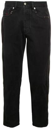 Diesel Mharky Slim-Fit Side Zip Jeans