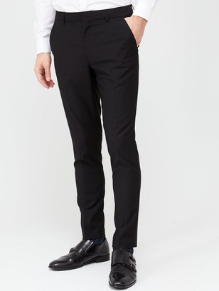 Very Man StretchSkinny Suit Trousers - Black