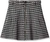 XOXO Women's Zip up Pattern Skirt