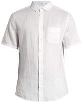 Onia Jack short-sleeved linen shirt