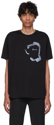 Givenchy Black Snake Pocket T-Shirt