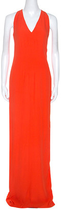Boss By Hugo Boss Orange Sleeveless V-Neck Dallisia Dress S