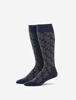 Tommy John Geo Print Over the Calf Dress Sock