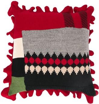 Preen by Thornton Bregazzi patchwork design cushion