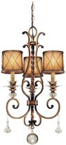 Minka Lavery The Great Outdoors 8816-57 Amherst 4 Light Post Mount In Roman With Mouth Blown Clear Seeded Glass