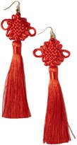 Vanessa Mooney The Chinese Good Luck Tassel Earrings