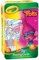 Crayola DreamWorks Trolls Color Your Own Playing Cards Set by