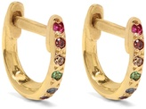 Ileana Makri Diamond, multi-stone & yellow-gold earrings